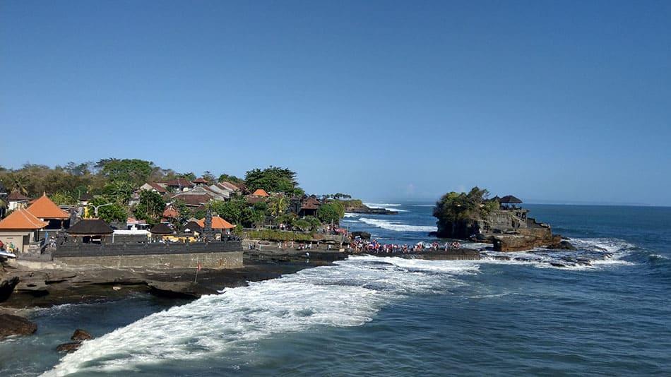 Temple sur l'eau - Bali